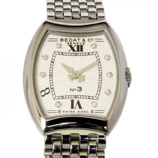 ベダ&カンパニー BEDAT&CO. その他 No3 9Pダイヤ 304 ホワイト文字盤 レディース 腕時計 【新古品】