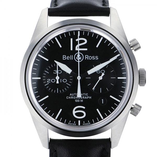 ベル&ロス BELL&ROSS その他 ヴィンテージ オリジナルブラック BRV126-BL-ST/SCA ブラック文字盤 メンズ 腕時計 【新品】