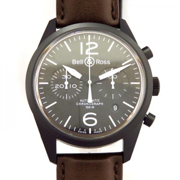 ベル&ロス BELL&ROSS その他 ヴィンテージ BR126-94-SC ブラック文字盤 メンズ 腕時計 【新古品】