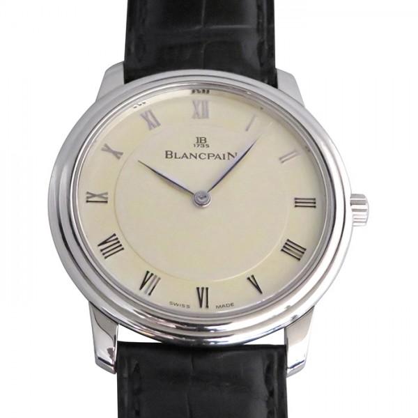 ブランパン BLANCPAIN ヴィルレ ハーフハンター ウルトラスリム B3028-1542-55 シルバー文字盤 メンズ 腕時計 【中古】