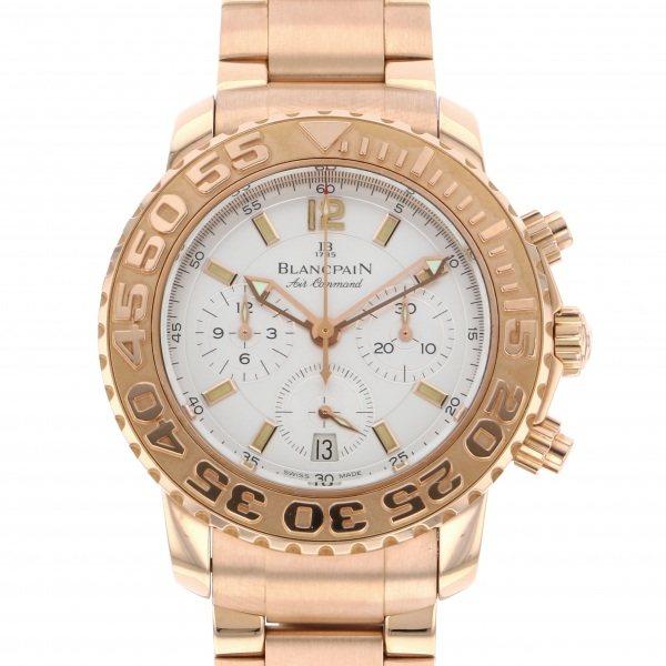 【全品 ポイント10倍 4/9~4/16】ブランパン BLANCPAIN その他 トリロジー エアーコマンド 世界限定33本 2285F シルバー文字盤 メンズ 腕時計 【中古】