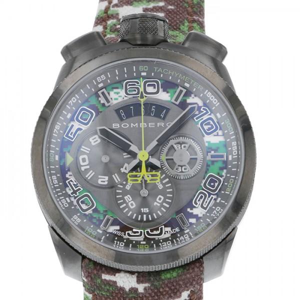 ボンバーグ BOMBERG カモフラージュ BS45CHPGM0383 カモ柄文字盤 メンズ 腕時計 【新品】
