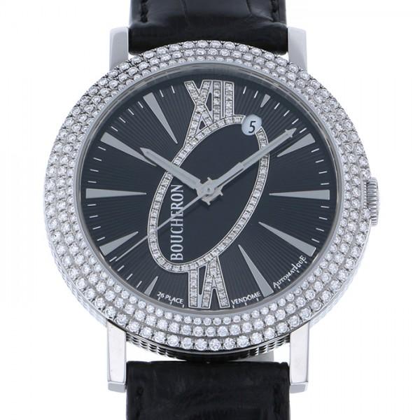 ブシュロン BOUCHERON その他 ロンド オートマチック WA010308 ブラック文字盤 メンズ 腕時計 【新品】