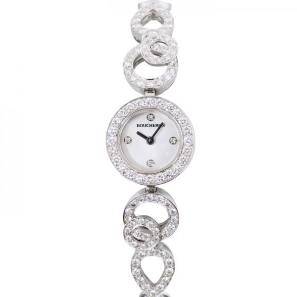 ブシュロン BOUCHERON その他 アバ デコ WA008503 ホワイト文字盤 レディース 腕時計 【新品】