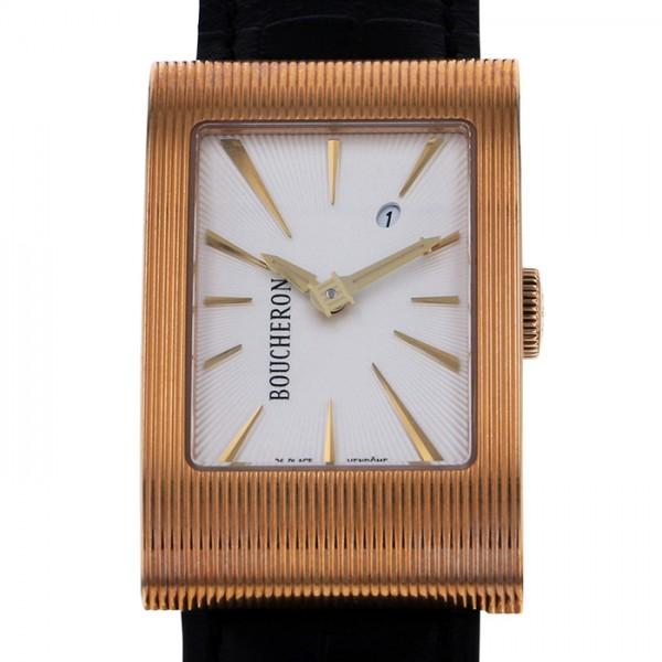 ブシュロン BOUCHERON リフレ WA009303 シルバー文字盤 メンズ 腕時計 【新品】