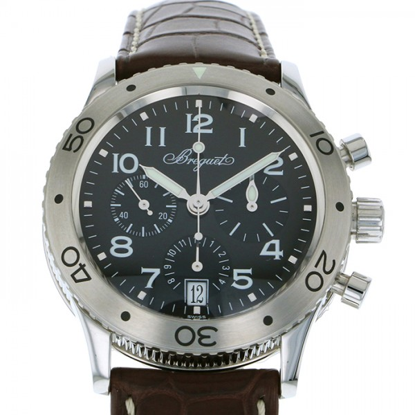 ブレゲ BREGUET トランスアトランティック タイプXX 3820ST/H2/9W6 ブラック文字盤 メンズ 腕時計 【新品】