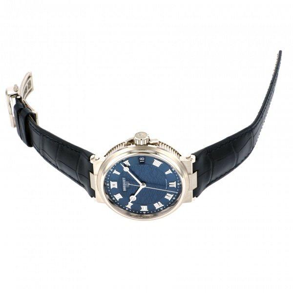 【全品 ポイント10倍 16日1:59まで 要エントリー】ブレゲ BREGUET マリーン 5517BB/Y2/9ZU ブルー文字盤 メンズ 腕時計 【新品】