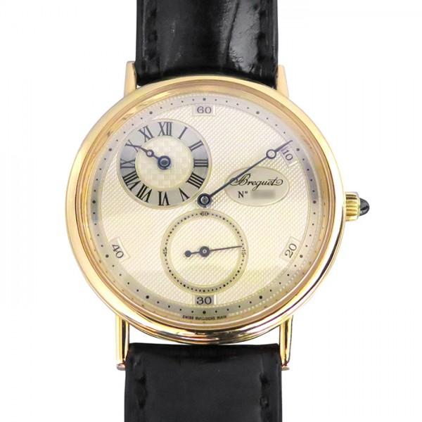 ブレゲ BREGUET クラシック レギュレーター 3690 シルバー文字盤 メンズ 腕時計 【中古】