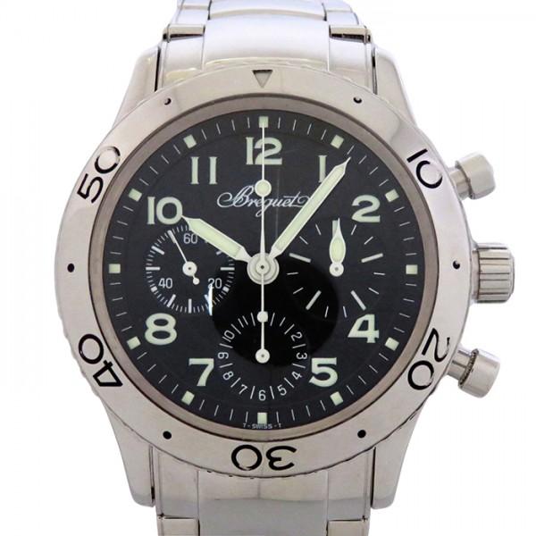 ブレゲ BREGUET その他 タイプXX アエロナバル 3800ST/92/SW9 ブラック文字盤 メンズ 腕時計 【中古】