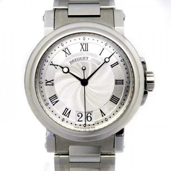 ブレゲ BREGUET マリーン II ラージデイト 5817ST/12/SMO シルバー文字盤 メンズ 腕時計 【新品】