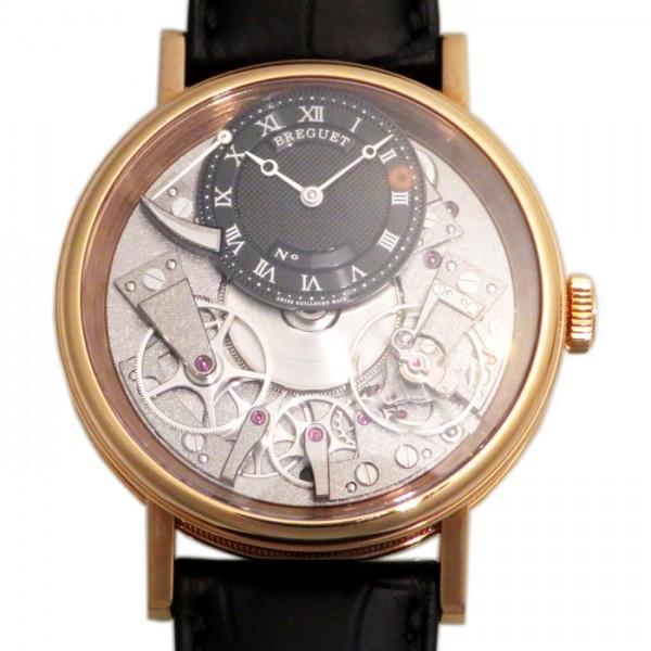 ブレゲ BREGUET クラシック トラディション 7057BR/G9/9W6 ブラック/グレー文字盤 メンズ 腕時計 【新品】
