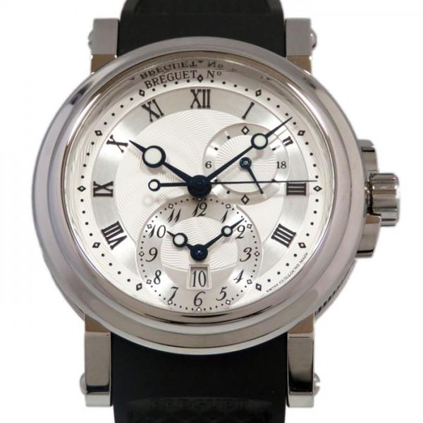 新作モデル ブレゲ Breguet マリーン 腕時計 GMT 5857ST/12 ブレゲ/5ZU シルバー文字盤 新品 Breguet 腕時計 メンズ, 子供のズボン屋:3b94a48d --- verandasvanhout.nl