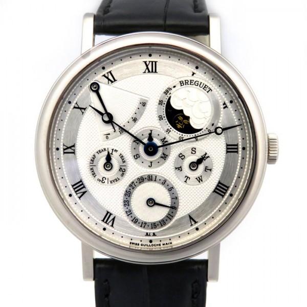 ブレゲ BREGUET クラシック パーペチュアルカレンダー パワーリザーブ 5327BB/1E/9V6 シルバー文字盤 メンズ 腕時計 【新品】