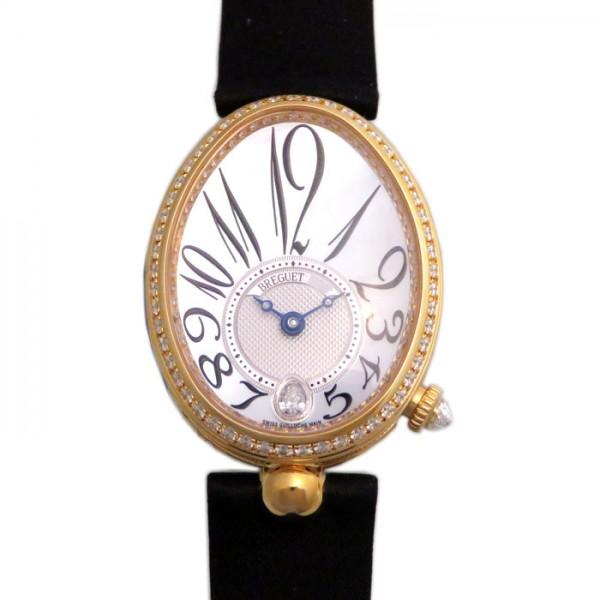 ブレゲ BREGUET クイーンオブネイプルズ ベゼルダイヤ 8918BA/58/864 D00D ホワイト文字盤 レディース 腕時計 【新品】