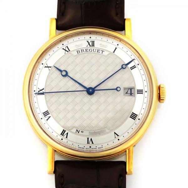 ブレゲ BREGUET クラシック 5177BR/12/9V6 シルバー文字盤 メンズ 腕時計 【新品】