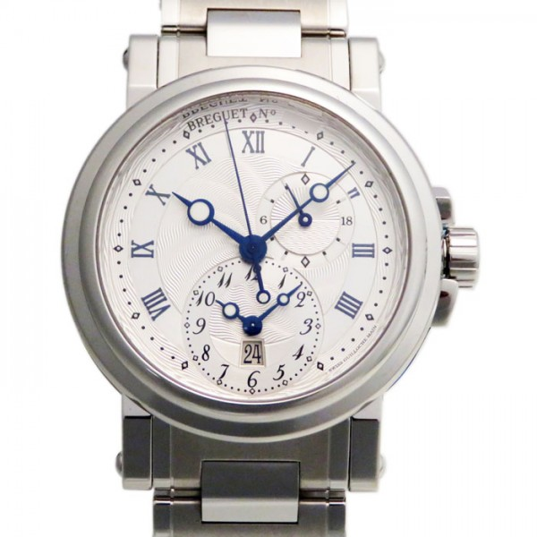 ブレゲ BREGUET マリーン GMT 5857ST/12/SZO シルバー文字盤 メンズ 腕時計 【新品】