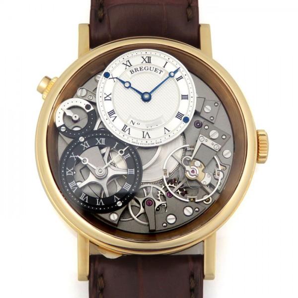 ブレゲ BREGUET クラシック トラディション 7067BR/G1/9W6 グレー文字盤 メンズ 腕時計 【新品】