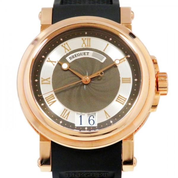 爆売り! ブレゲ Breguet メンズ 5817BR/Z2/5V8 マリーン II ラージデイト 5817BR/Z2/5V8 ブラック 腕時計/シルバー文字盤 新品 腕時計 メンズ, ふとん工場サカイ:09910ce9 --- verandasvanhout.nl