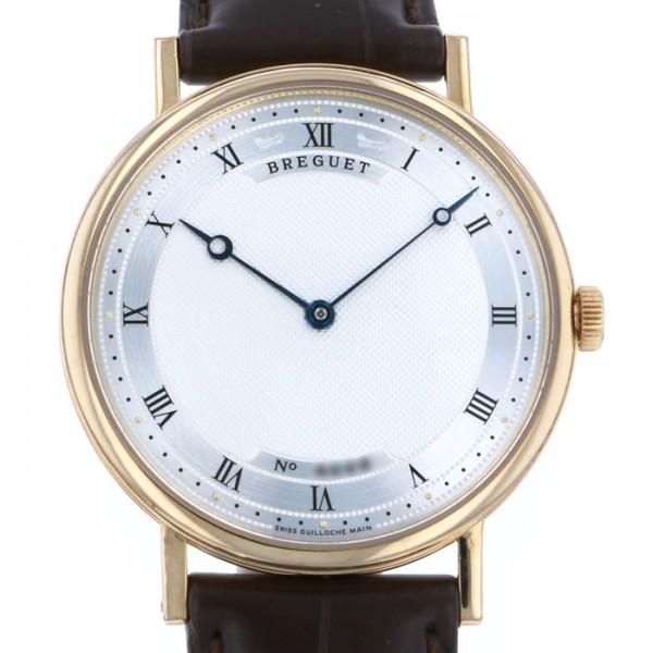 ブレゲ BREGUET クラシック 5157BA/11/9V6 シルバー文字盤 メンズ 腕時計 【中古】