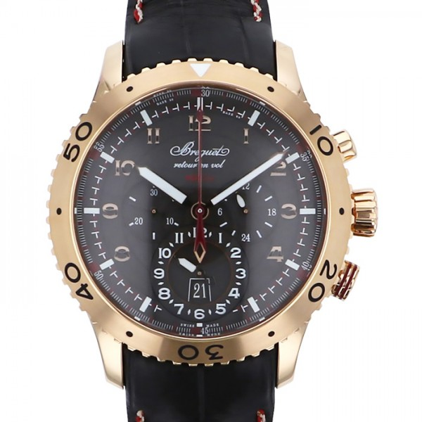 ブレゲ BREGUET トランスアトランティック タイプXXII 3880BR/Z2/9XV ブラウン文字盤 メンズ 腕時計 【新品】