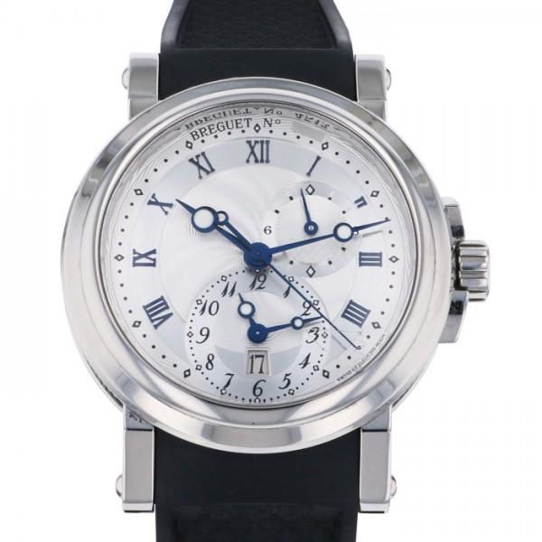 【初回限定】 ブレゲ 5857ST/12/5ZU Breguet マリーン GMT 5857ST/12 腕時計 マリーン/5ZU シルバー文字盤 腕時計 メンズ, オフィス主任:18f15674 --- caregiver.progsite.com