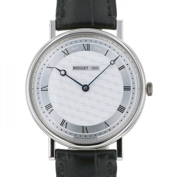 ブレゲ BREGUET クラシック アールデコ 5967BB/11/9W6 シルバー文字盤 メンズ 腕時計 【中古】