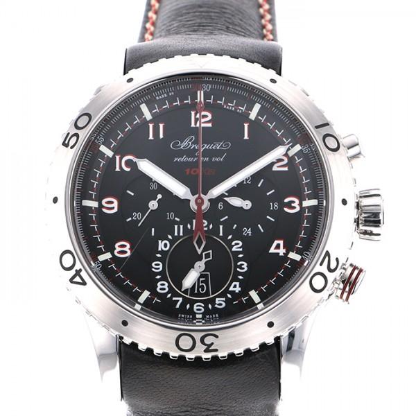 ブレゲ BREGUET その他 タイプXXII 3880ST/H2/3XV ブラック文字盤 メンズ 腕時計 【中古】