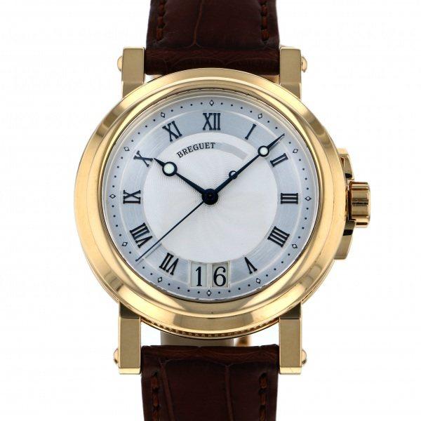 ブレゲ BREGUET マリーン II ラージデイト 5817BA/12/9V8 シルバー文字盤 メンズ 腕時計 【中古】