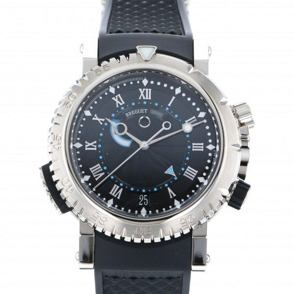 ブレゲ BREGUET マリーン ロイヤル 5847BB/92/5ZV ブラック文字盤 メンズ 腕時計 【中古】