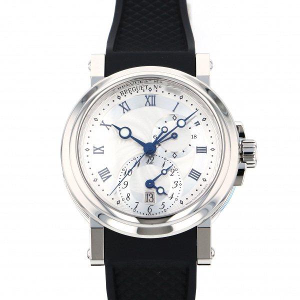 ブレゲ BREGUET マリーン GMT 5857ST/12/5ZU シルバー文字盤 メンズ 腕時計 【新品】