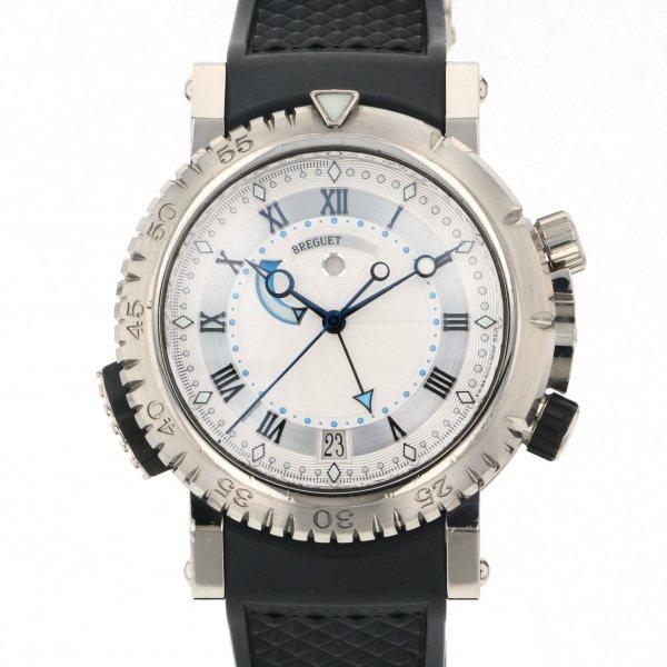 ブレゲ BREGUET マリーン ロイヤル 5847BB/12/5ZV シルバー文字盤 メンズ 腕時計 【中古】
