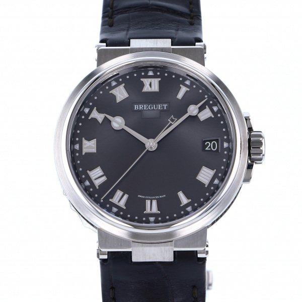ブレゲ BREGUET マリーン 5517TI/G2/9ZU グレー文字盤 メンズ 腕時計 【新品】