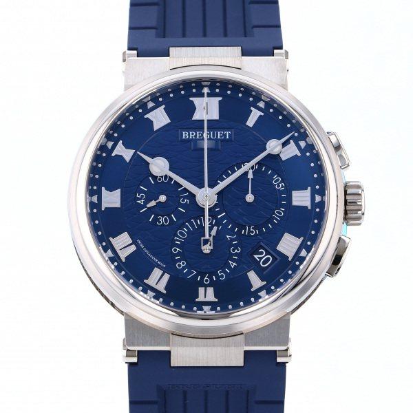 ブレゲ BREGUET マリーン クロノグラフ 5527BB/Y2/5WV ブルー文字盤 メンズ 腕時計 【新品】