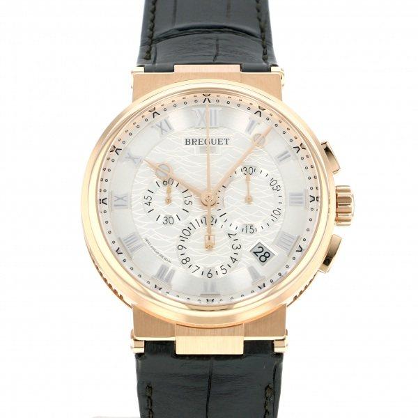 ブレゲ BREGUET マリーン クロノグラフ 5527BR/12/9WV シルバー文字盤 メンズ 腕時計 【新品】
