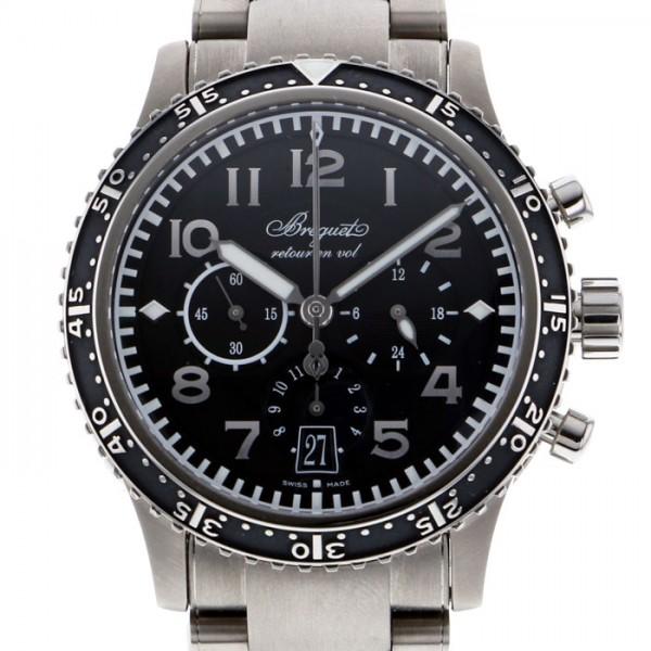 ブレゲ BREGUET その他 タイプXXI 3810TI/H2/TZ9 ブラック文字盤 メンズ 腕時計 【新品】