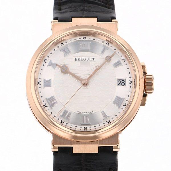 ブレゲ BREGUET マリーン 5517BR/12/9ZU シルバー文字盤 メンズ 腕時計 【新品】