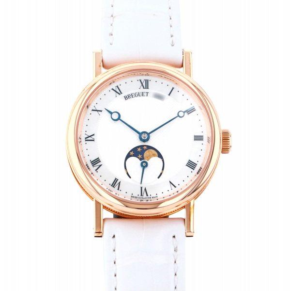 ブレゲ BREGUET クラシック ムーンフェイズ レディ 9087BR/52/964 シルバー文字盤 レディース 腕時計 【新品】
