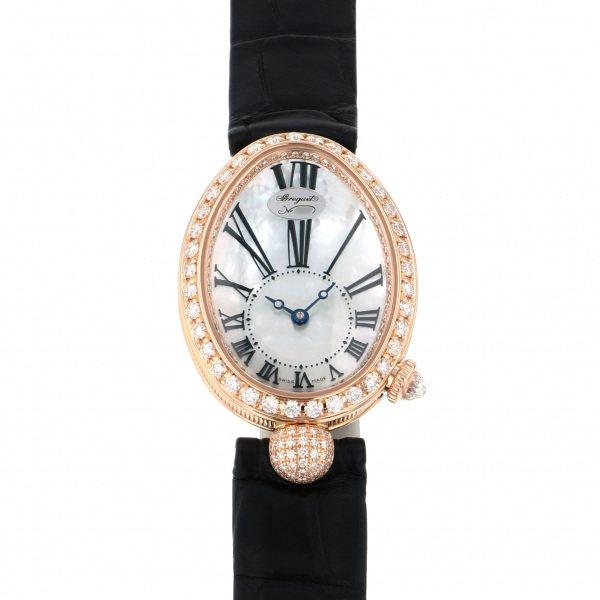ブレゲ BREGUET クイーンオブネイプルズ 8928BR/51/944 DD0D ホワイト文字盤 レディース 腕時計 【新品】