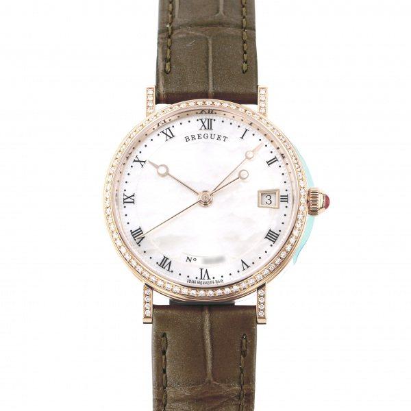ブレゲ BREGUET クラシック 9068BR/52/976 DD00 ホワイト文字盤 レディース 腕時計 【新品】