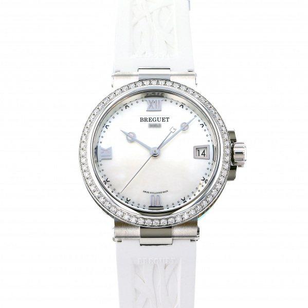 ブレゲ BREGUET マリーン レディ 9518ST/5W/584 D000 ホワイト文字盤 レディース 腕時計 【新品】