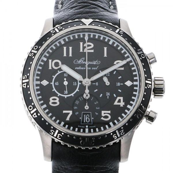 ブレゲ BREGUET トランスアトランティック タイプXXI 3810TI/H2/3ZU ブラック文字盤 メンズ 腕時計 【新品】