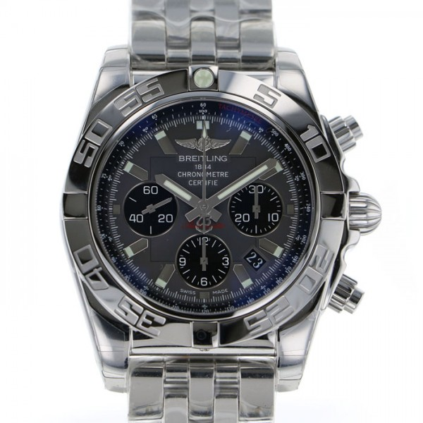 ブライトリング BREITLING クロノマット44 A011F46PA グレー文字盤 メンズ 腕時計 【新品】