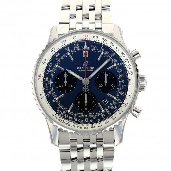 ブライトリング BREITLING ナビタイマー 1 B01 クロノグラフ A022C-1NP ブルー文字盤 メンズ 腕時計 【新品】