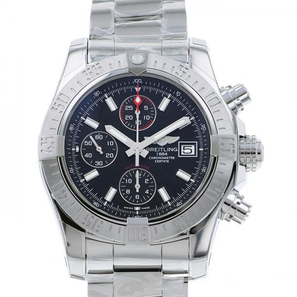 ブライトリング BREITLING アベンジャー II A339B32PSS ブラック文字盤 メンズ 腕時計 【新品】