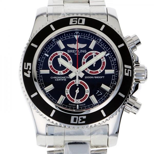 ブライトリング BREITLING スーパーオーシャン クロノグラフ M2000 A731B72PSS ブラック文字盤 メンズ 腕時計 【新品】
