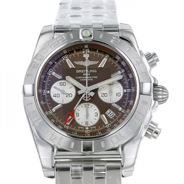 ブライトリング BREITLING クロノマット 44 AB042011Q589 ブラウン文字盤 メンズ 腕時計 【新品】