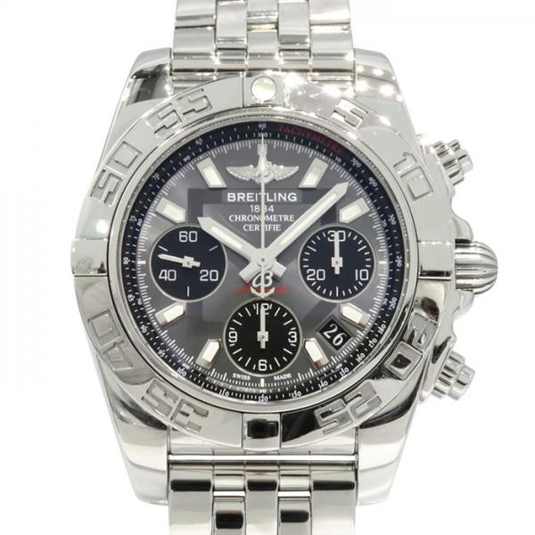 ブライトリング BREITLING クロノマット 41 A014F54PA グレー/ブラック文字盤 メンズ 腕時計 【中古】