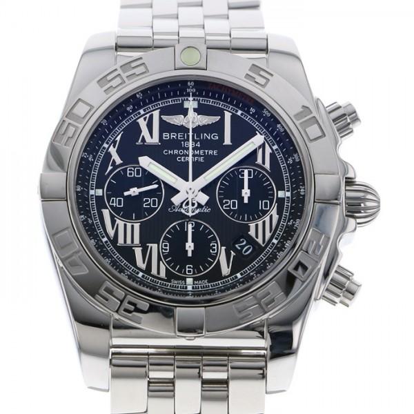 【全品 ポイント10倍 4/9~4/16】ブライトリング BREITLING クロノマット 44 AB011012/B956 (A011B56PA) ブラック文字盤 メンズ 腕時計 【中古】