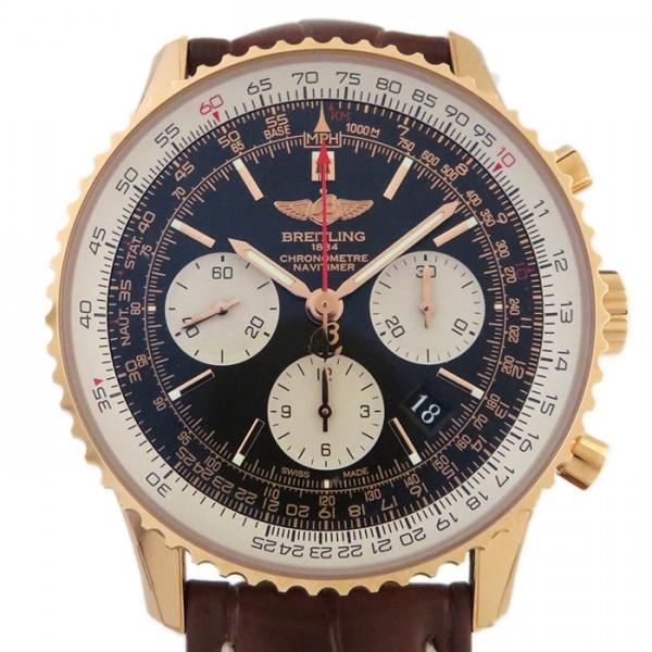 ブライトリング BREITLING ナビタイマー01 R022B49WBA ブラック文字盤 メンズ 腕時計 【新品】