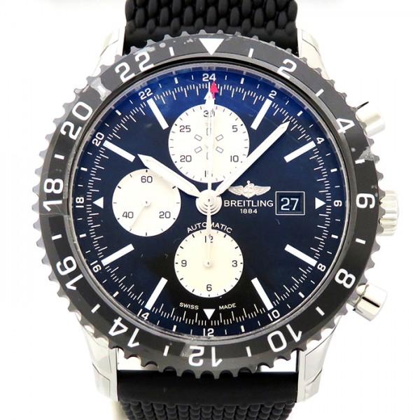 ブライトリング BREITLING その他 クロノライナー Y241B10QRC ブラック文字盤 メンズ 腕時計 【新品】